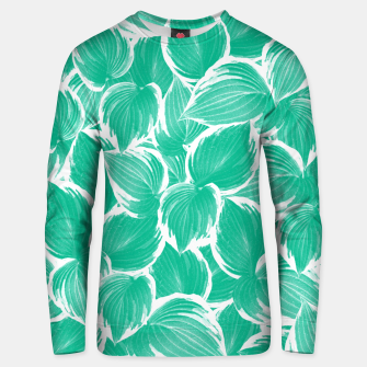 Thumbnail image of Summer Green Leaves Dream #1 #tropical #decor #art Unisex sweatshirt, Live Heroes