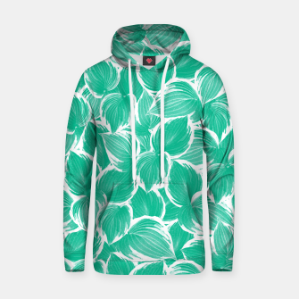 Thumbnail image of Summer Green Leaves Dream #1 #tropical #decor #art Kapuzenpullover, Live Heroes