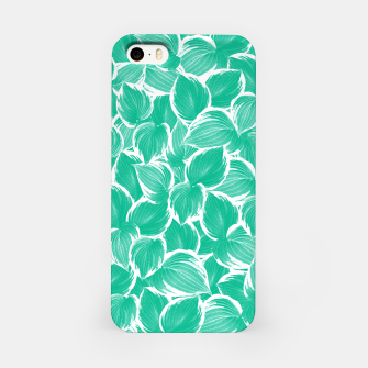Miniatur Summer Green Leaves Dream #1 #tropical #decor #art iPhone-Hülle, Live Heroes