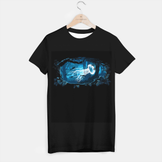 Jellyfish Woods Camiseta Regular Bild der Miniatur