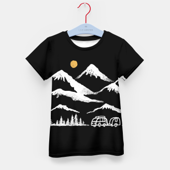 Miniatur Adventurer Kid's t-shirt, Live Heroes