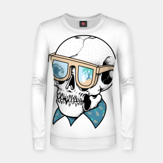 Skull holiday Women sweater imagen en miniatura