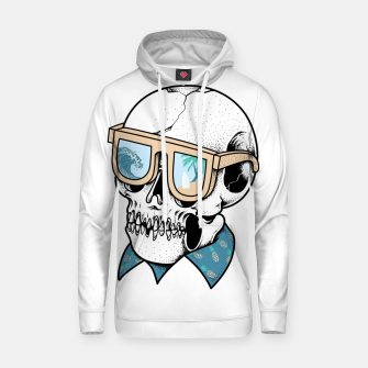 Thumbnail image of Skull holiday Hoodie, Live Heroes