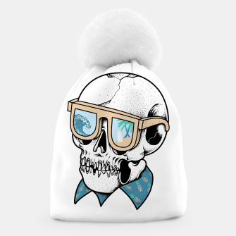 Thumbnail image of Skull holiday Beanie, Live Heroes