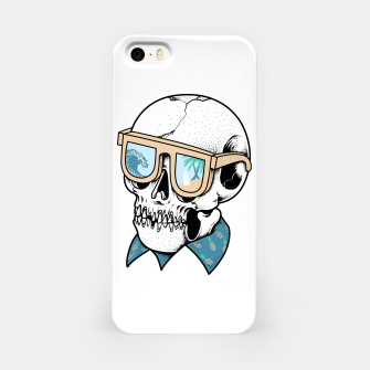 Skull holiday iPhone Case imagen en miniatura