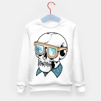 Skull holiday Kid's sweater imagen en miniatura