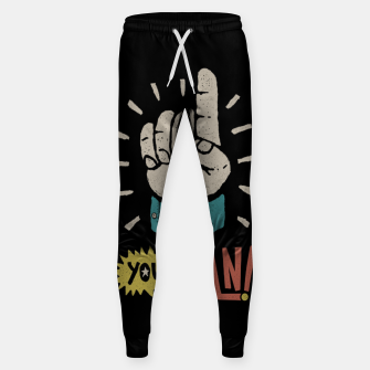 Miniatur Yes, You Can! Sweatpants, Live Heroes