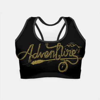 Miniatur Adventure Rope Crop Top, Live Heroes