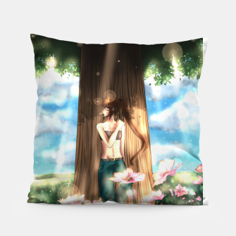 Thumbnail image of first spring Coussin, Live Heroes