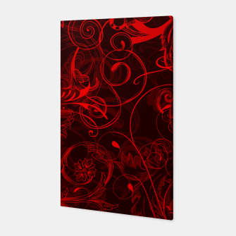 Thumbnail image of floral ornaments pattern ch Canvas, Live Heroes
