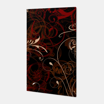 Thumbnail image of floral ornaments pattern bco Canvas, Live Heroes