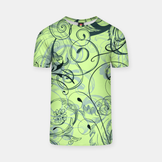 Thumbnail image of floral ornaments pattern lvoi T-shirt, Live Heroes