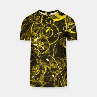 Thumbnail image of floral ornaments pattern dy T-shirt, Live Heroes