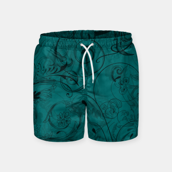 Thumbnail image of floral ornaments pattern pwi Swim Shorts, Live Heroes