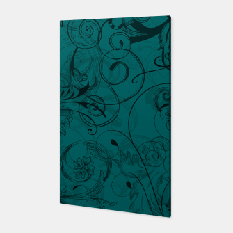 Thumbnail image of floral ornaments pattern pwi Canvas, Live Heroes
