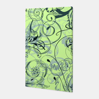 Thumbnail image of floral ornaments pattern lvoi Canvas, Live Heroes