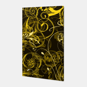Thumbnail image of floral ornaments pattern dy Canvas, Live Heroes