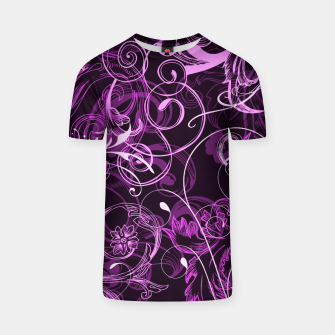 Thumbnail image of floral ornaments pattern mag T-shirt, Live Heroes