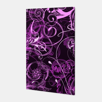 Thumbnail image of floral ornaments pattern mag Canvas, Live Heroes