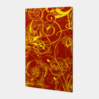 Thumbnail image of floral ornaments pattern ry Canvas, Live Heroes