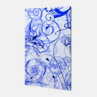 Thumbnail image of floral ornaments pattern dyi Canvas, Live Heroes