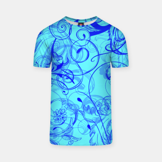 Thumbnail image of floral ornaments pattern ryi T-shirt, Live Heroes