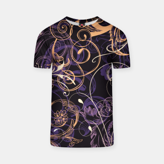 Thumbnail image of floral ornaments pattern ls T-shirt, Live Heroes