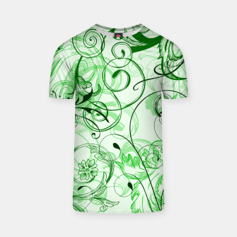 Thumbnail image of floral ornaments pattern magi T-shirt, Live Heroes