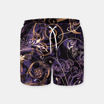 Thumbnail image of floral ornaments pattern ls Swim Shorts, Live Heroes