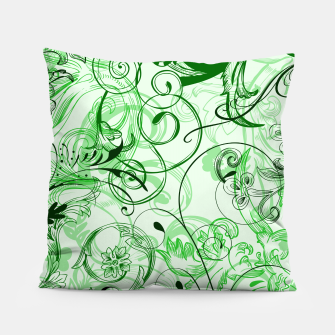 Thumbnail image of floral ornaments pattern magi Pillow, Live Heroes