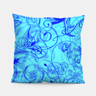 Thumbnail image of floral ornaments pattern ryi Pillow, Live Heroes