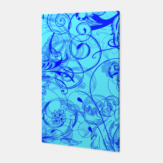 Thumbnail image of floral ornaments pattern ryi Canvas, Live Heroes