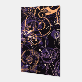 Thumbnail image of floral ornaments pattern ls Canvas, Live Heroes