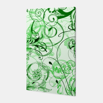 Thumbnail image of floral ornaments pattern magi Canvas, Live Heroes