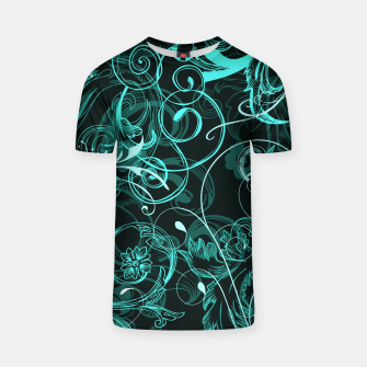 Thumbnail image of floral ornaments pattern uw T-shirt, Live Heroes