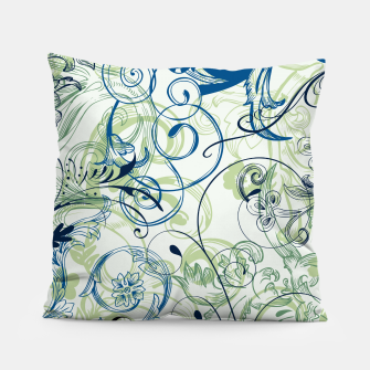 Thumbnail image of floral ornaments pattern lsi Pillow, Live Heroes