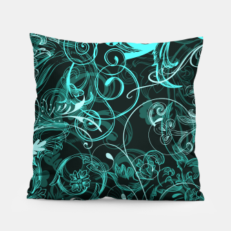 Thumbnail image of floral ornaments pattern uw Pillow, Live Heroes