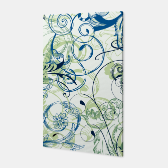 Thumbnail image of floral ornaments pattern lsi Canvas, Live Heroes