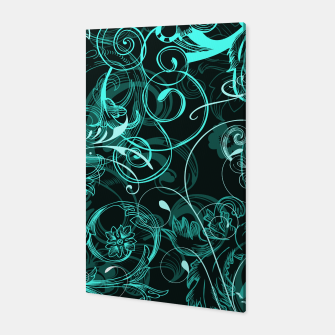 Thumbnail image of floral ornaments pattern uw Canvas, Live Heroes