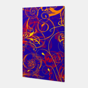 Thumbnail image of floral ornaments pattern nbry Canvas, Live Heroes