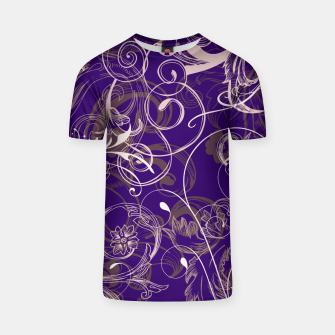 Thumbnail image of floral ornaments pattern lvo T-shirt, Live Heroes