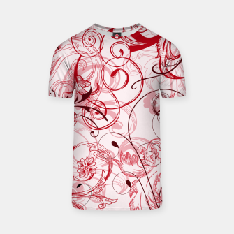 Thumbnail image of floral ornaments pattern uwi T-shirt, Live Heroes