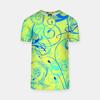 Thumbnail image of floral ornaments pattern nbryi T-shirt, Live Heroes