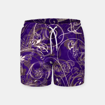 Thumbnail image of floral ornaments pattern lvo Swim Shorts, Live Heroes