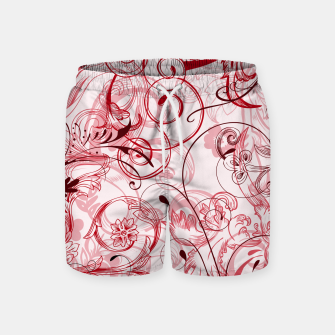 Thumbnail image of floral ornaments pattern uwi Swim Shorts, Live Heroes
