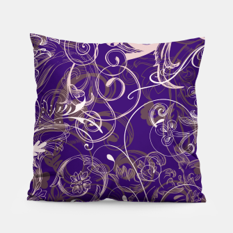 Thumbnail image of floral ornaments pattern lvo Pillow, Live Heroes