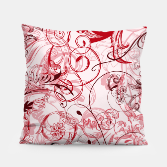 Thumbnail image of floral ornaments pattern uwi Pillow, Live Heroes
