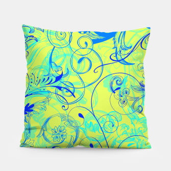 Thumbnail image of floral ornaments pattern nbryi Pillow, Live Heroes