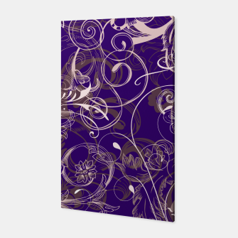 Thumbnail image of floral ornaments pattern lvo Canvas, Live Heroes