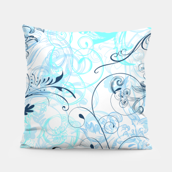 Thumbnail image of floral ornaments pattern bcoi Pillow, Live Heroes